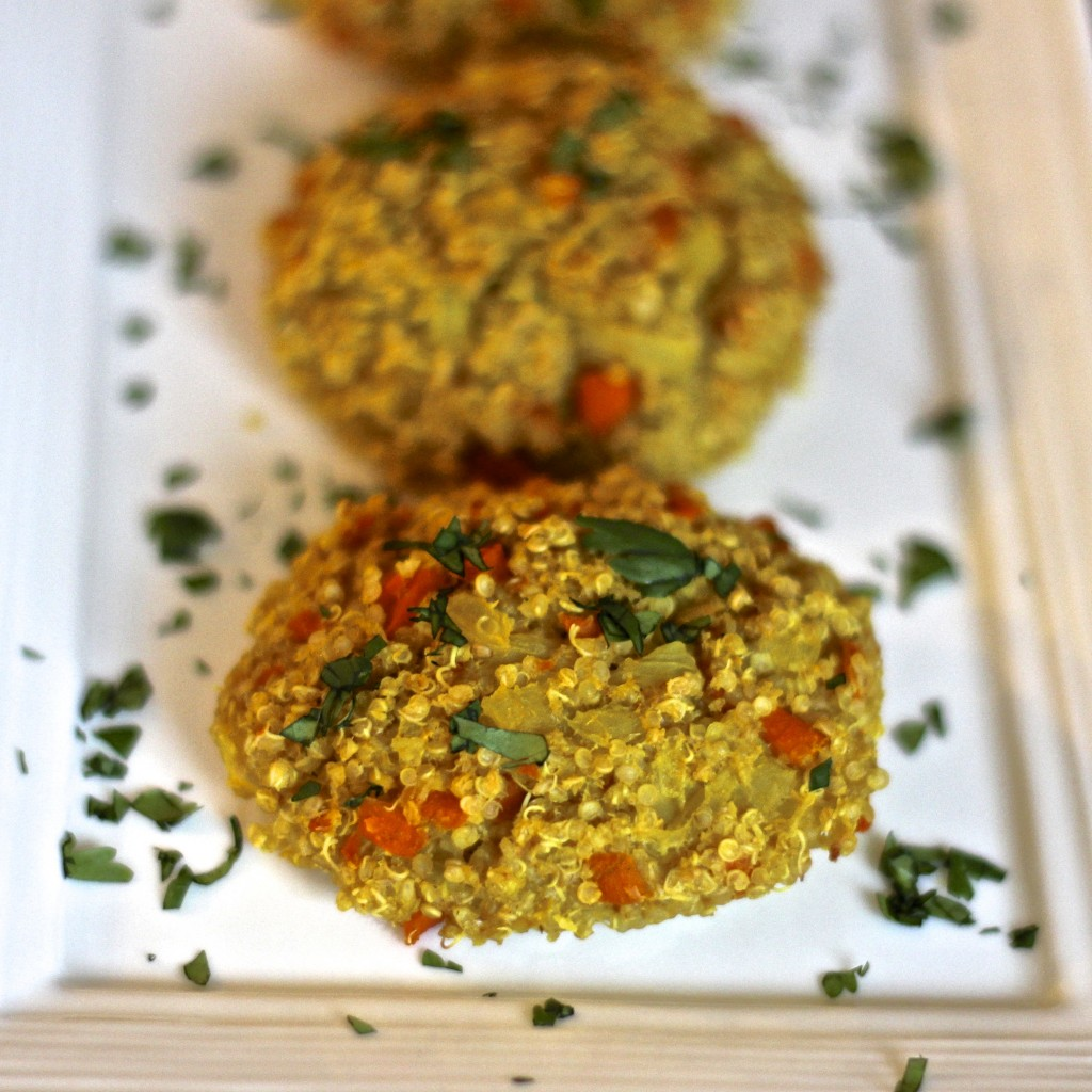 Quinoa and Veggie Cakes