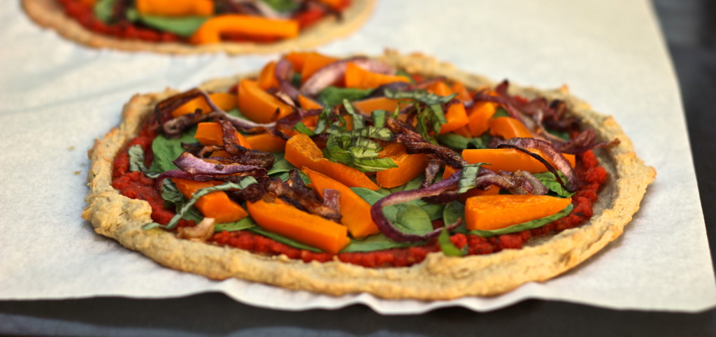 Quick and Easy Personal Veggie Pizza
