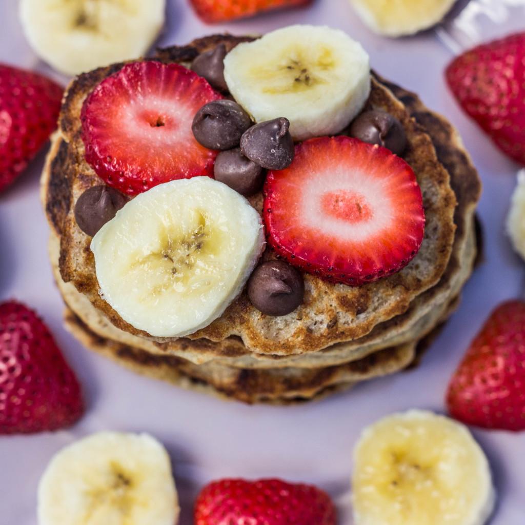Personal Vegan Pancake Stack