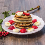 A Personal Vegan Pancake Stack (For Any Time of Day)