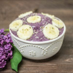 Vegan Blueberry Banana Ice Cream