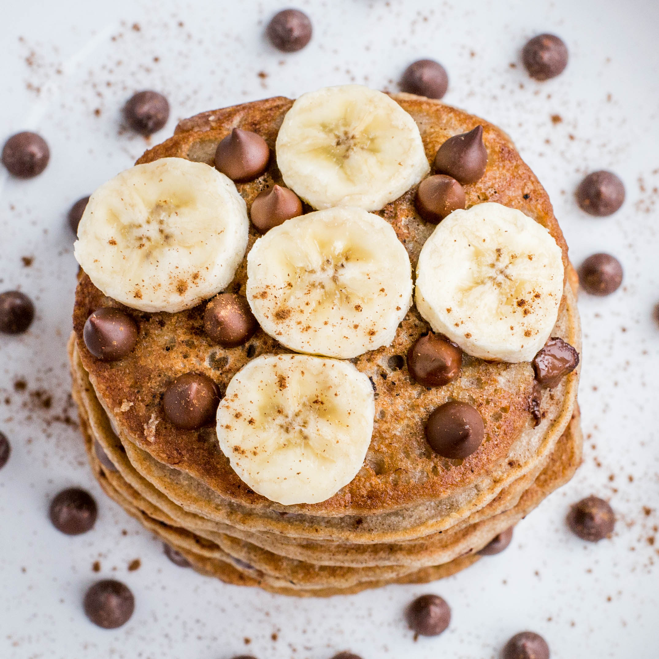 Banana chocolate chip protein pancakes lately i have been getting a lot of questions from my family and friends about my opinion on protein powders and how to use them ccuart Gallery